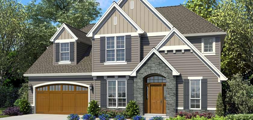 Mascord House Plan 22151B: The Blaine