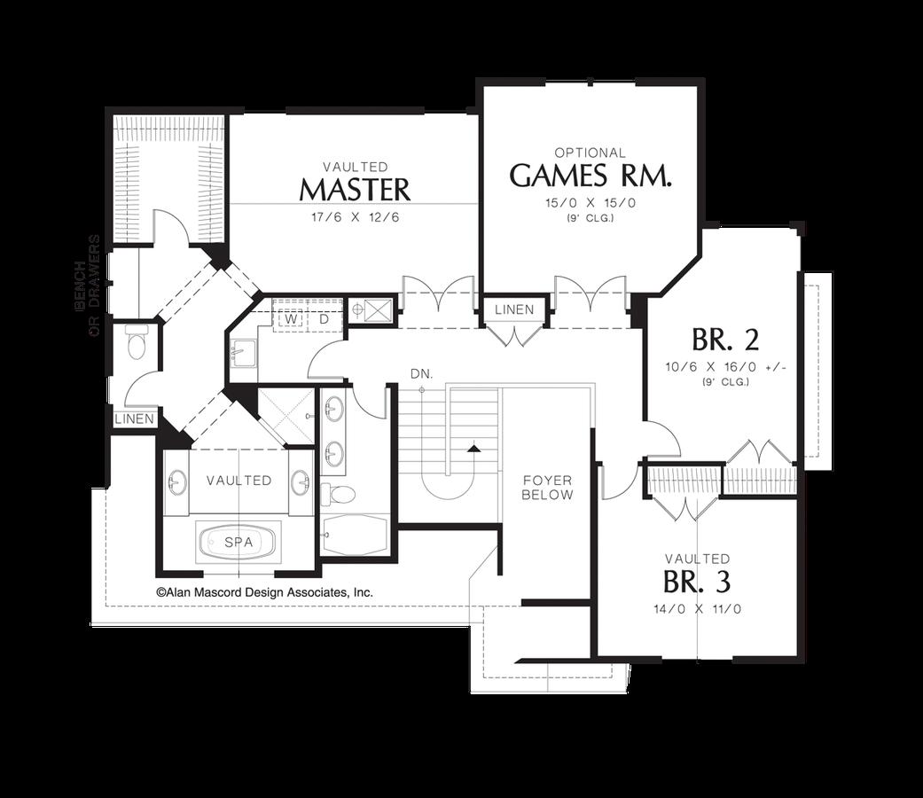 Craftsman House Plan 22154 The Elmore 2605 Sqft 3