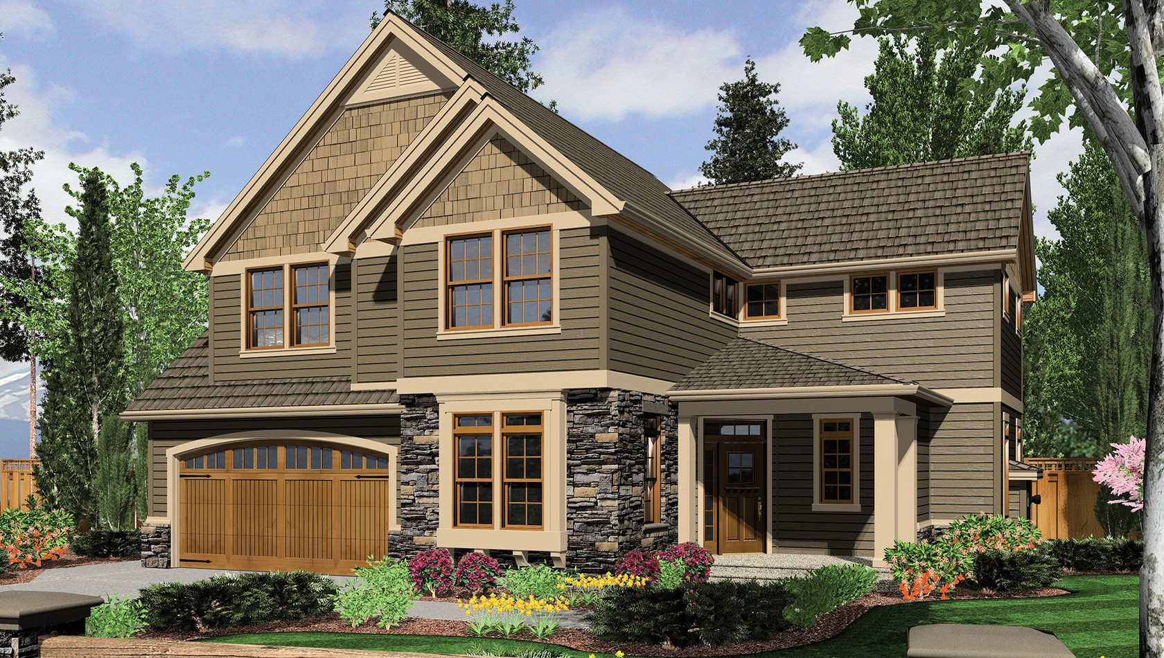 Main image for house plan 22155: The Gaylord