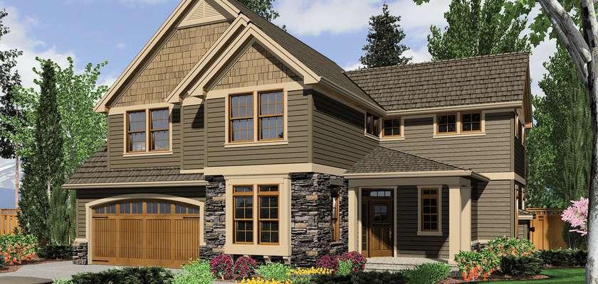 Mascord House Plan B22155: The Gaylord