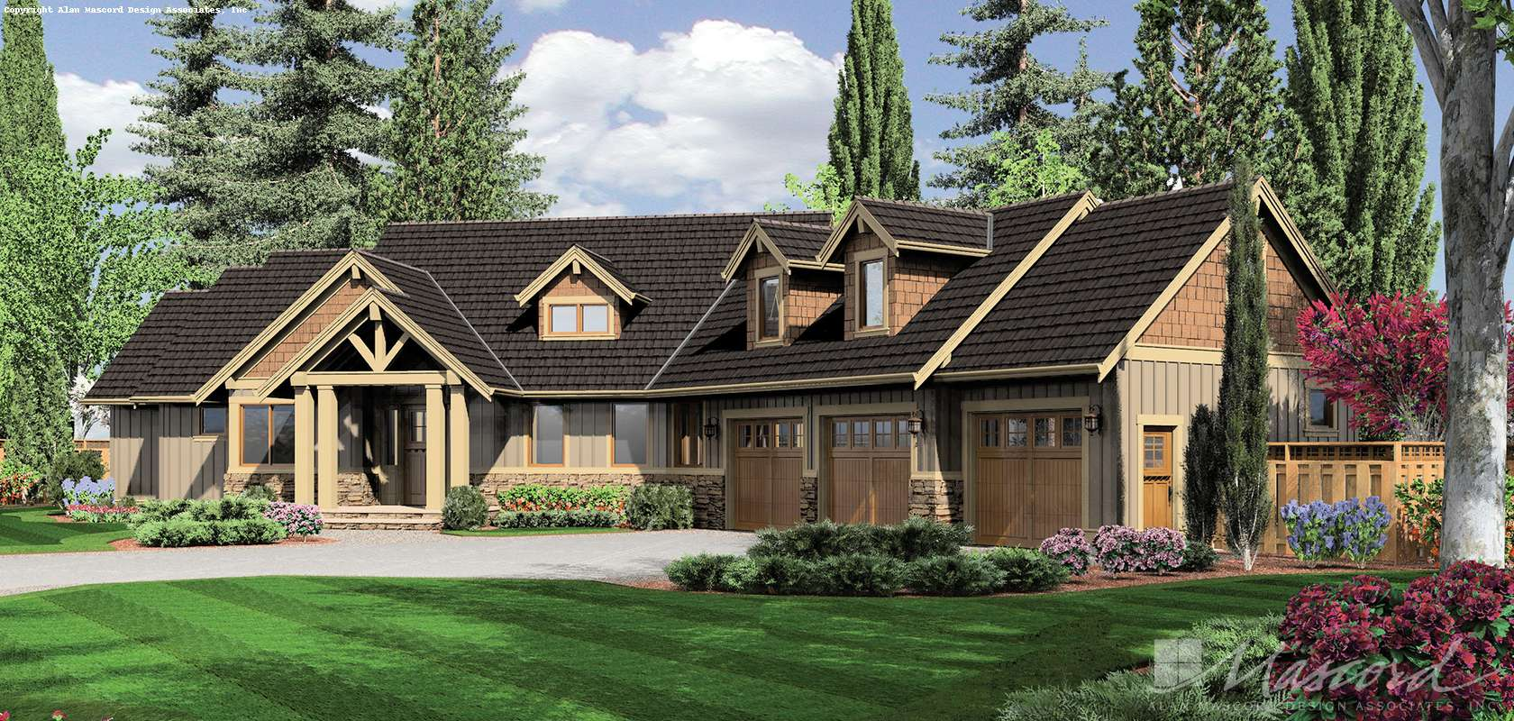Craftsman House Plan 22156 The Halstad