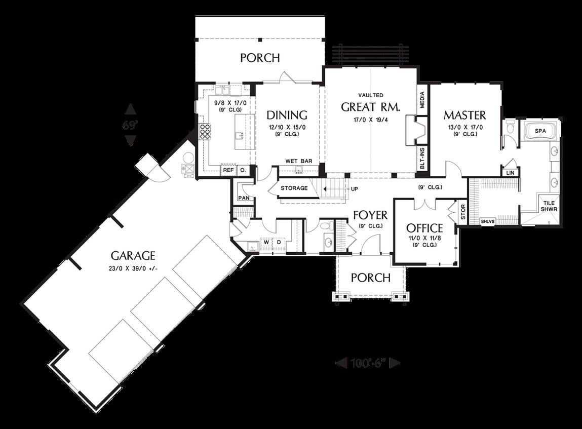 House Plan 22156f The Abbeywood