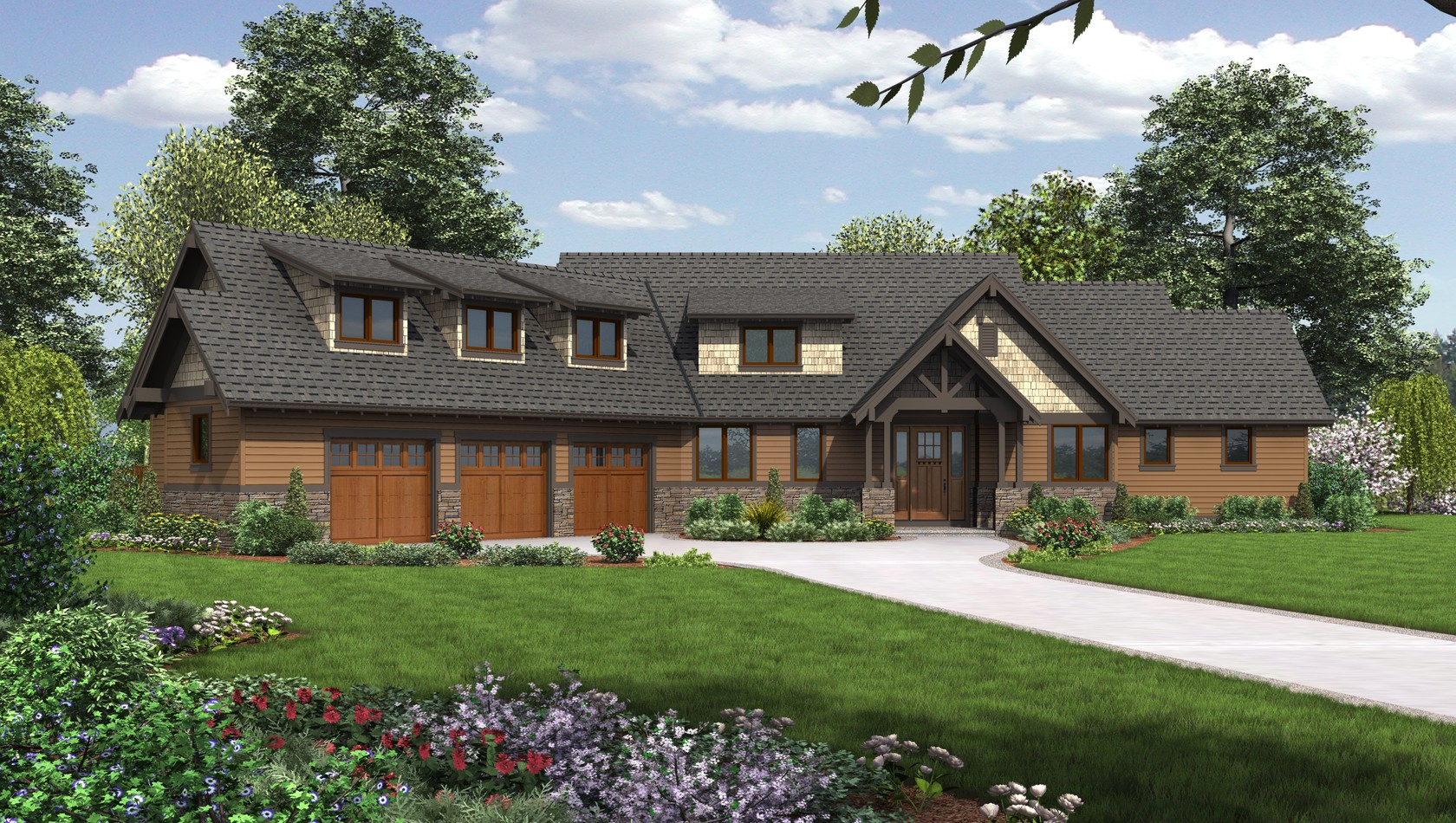 Main image for house plan B22156F: The