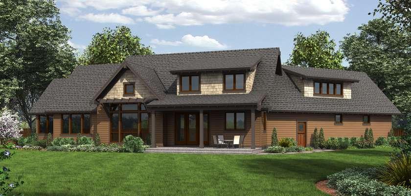 Mascord House Plan 22156F: The Abbeywood