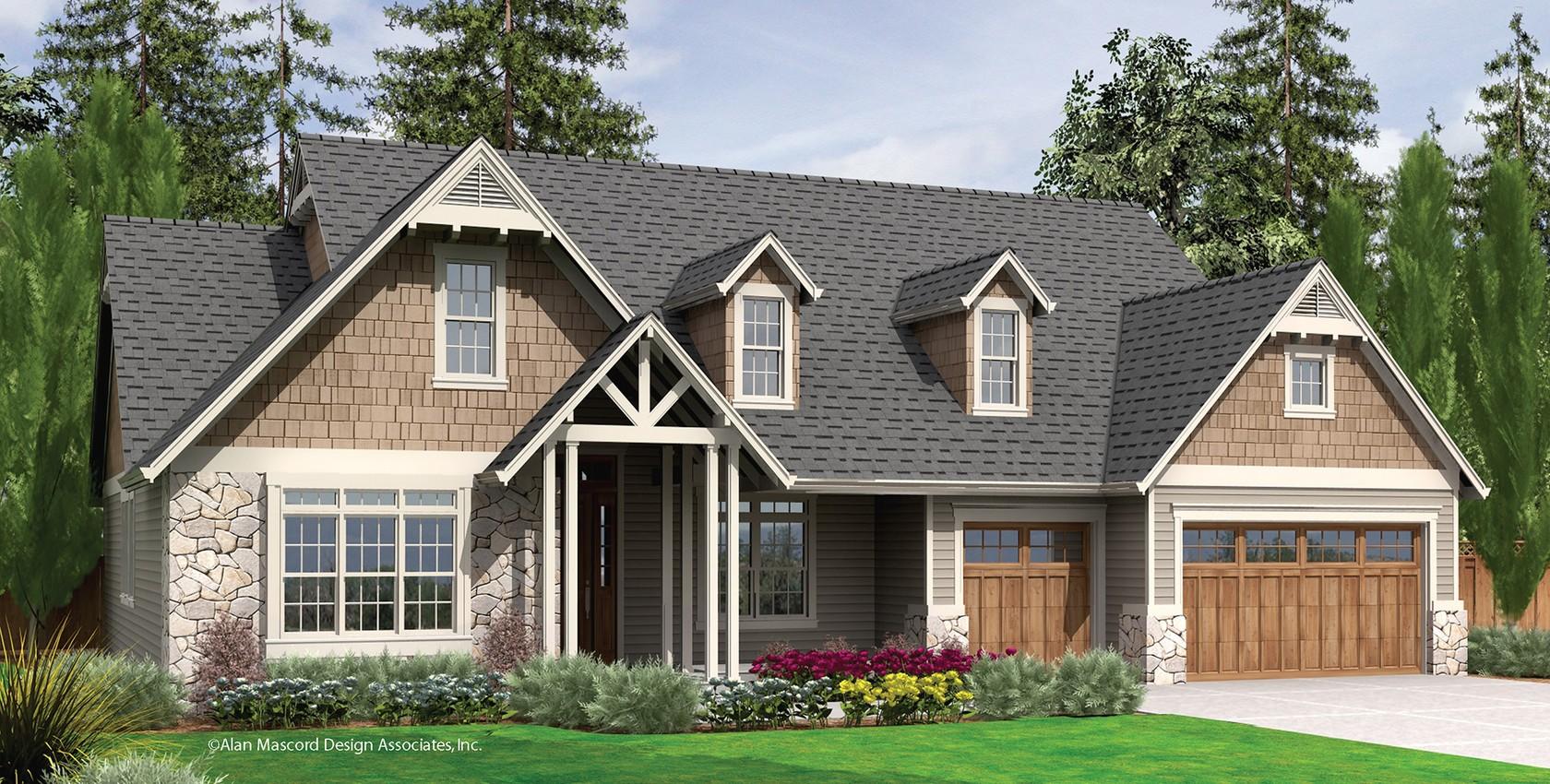 Mascord house plan 22157 the alton for House plans mascord