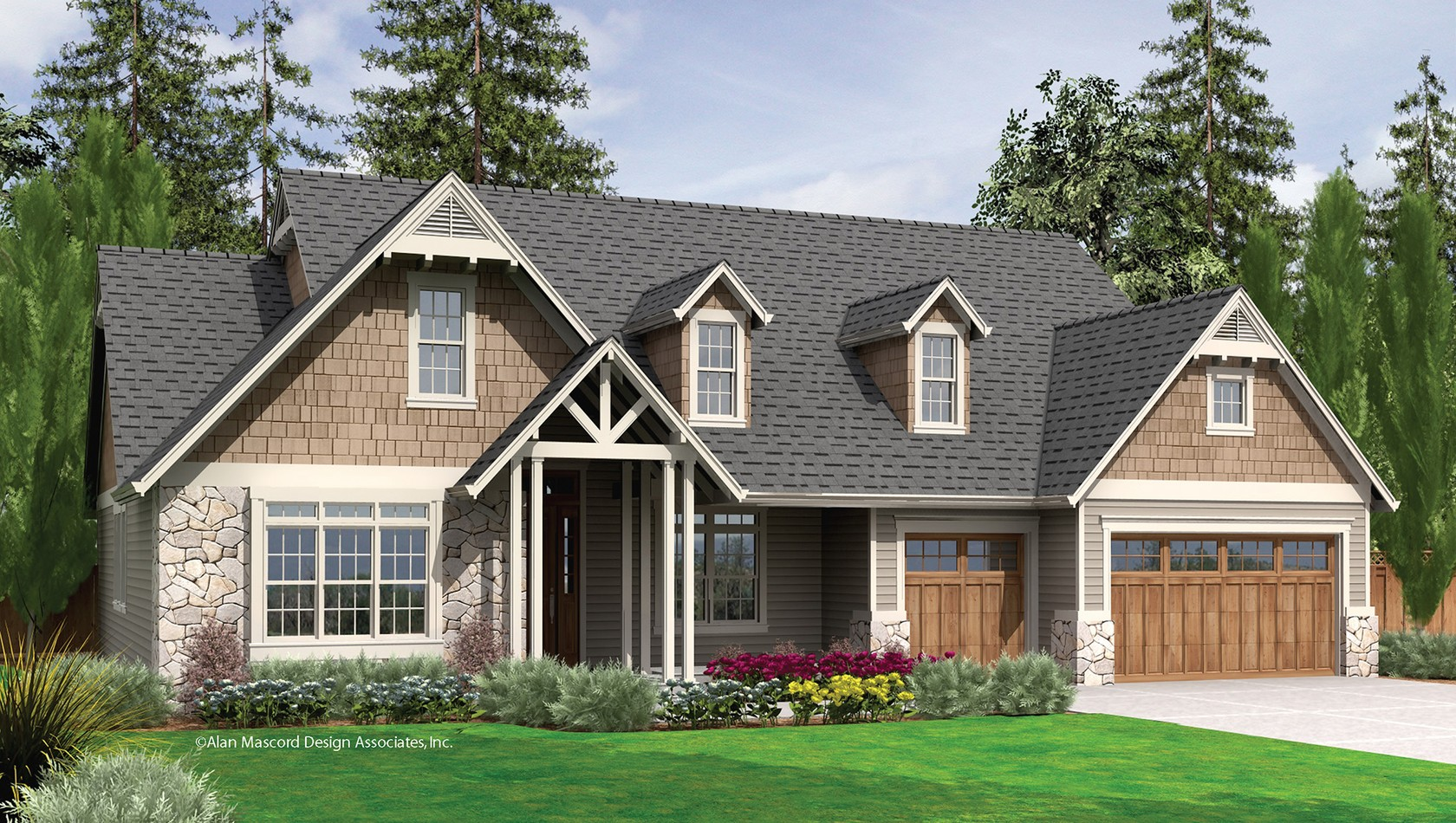 Main image for house plan B22157: The Alton