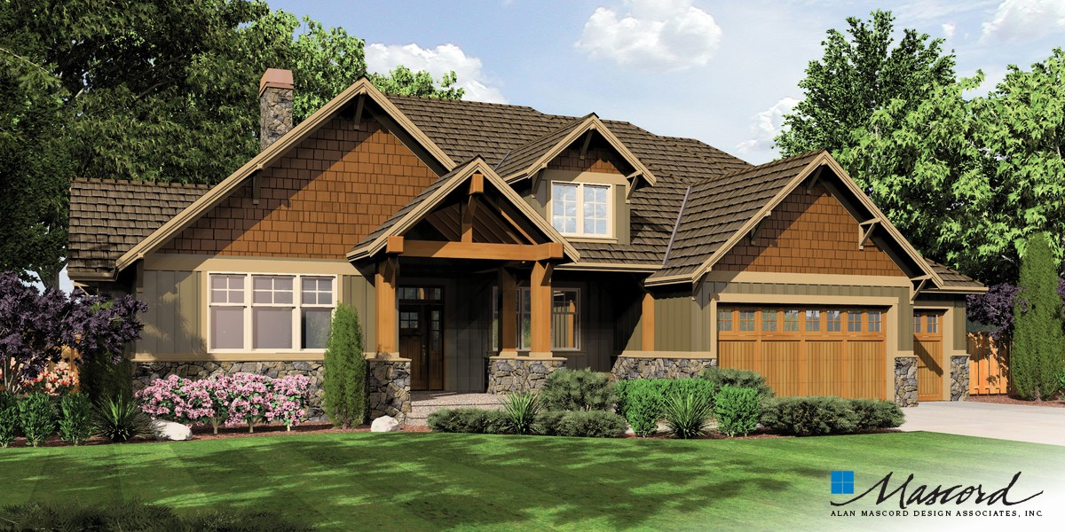 Image for Ashby-Lodge with Large Master Suite and Open Floor Plan-Front Rendering