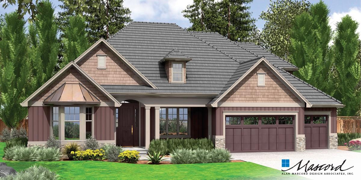 Mascord House Plan 22157A