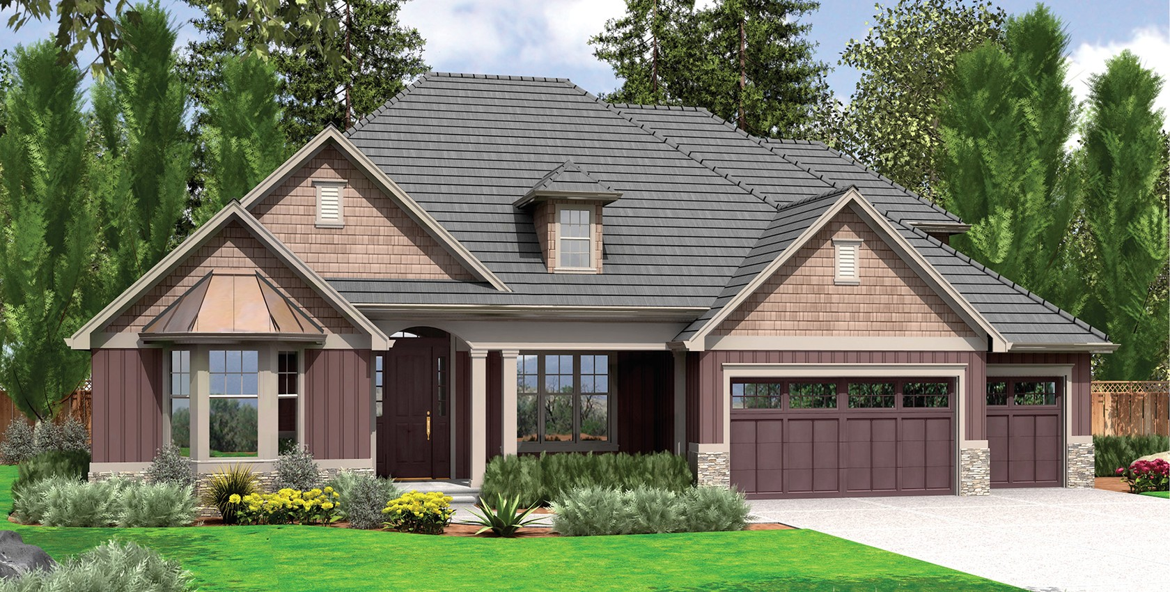 Mascord house plan 22157a the ravenwood for Ravenwood homes