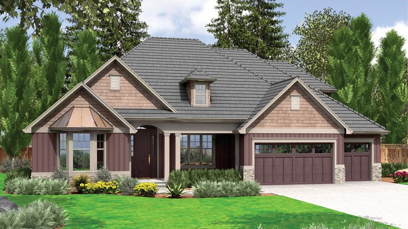Craftsman house plan 22157a the ravenwood 2595 sqft 3 for Ravenwood homes