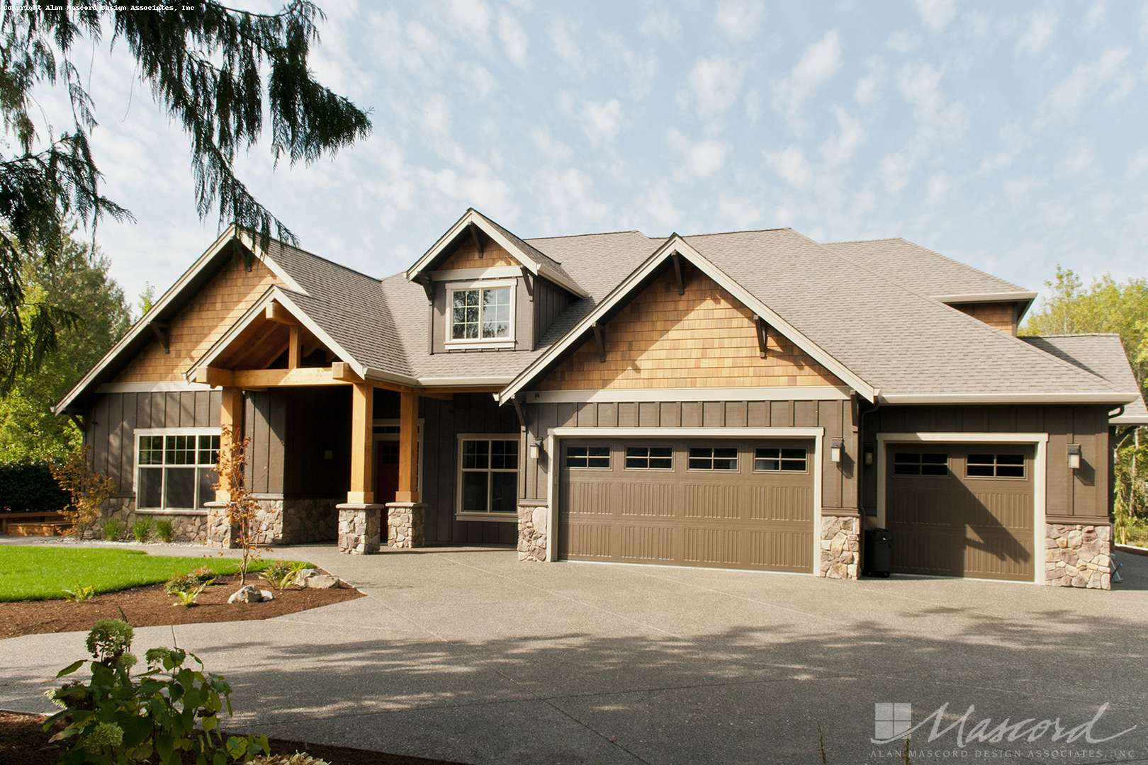 Craftsman House Plan 22157aa The Ashby 2735 Sqft 3 Beds 2 1 Baths