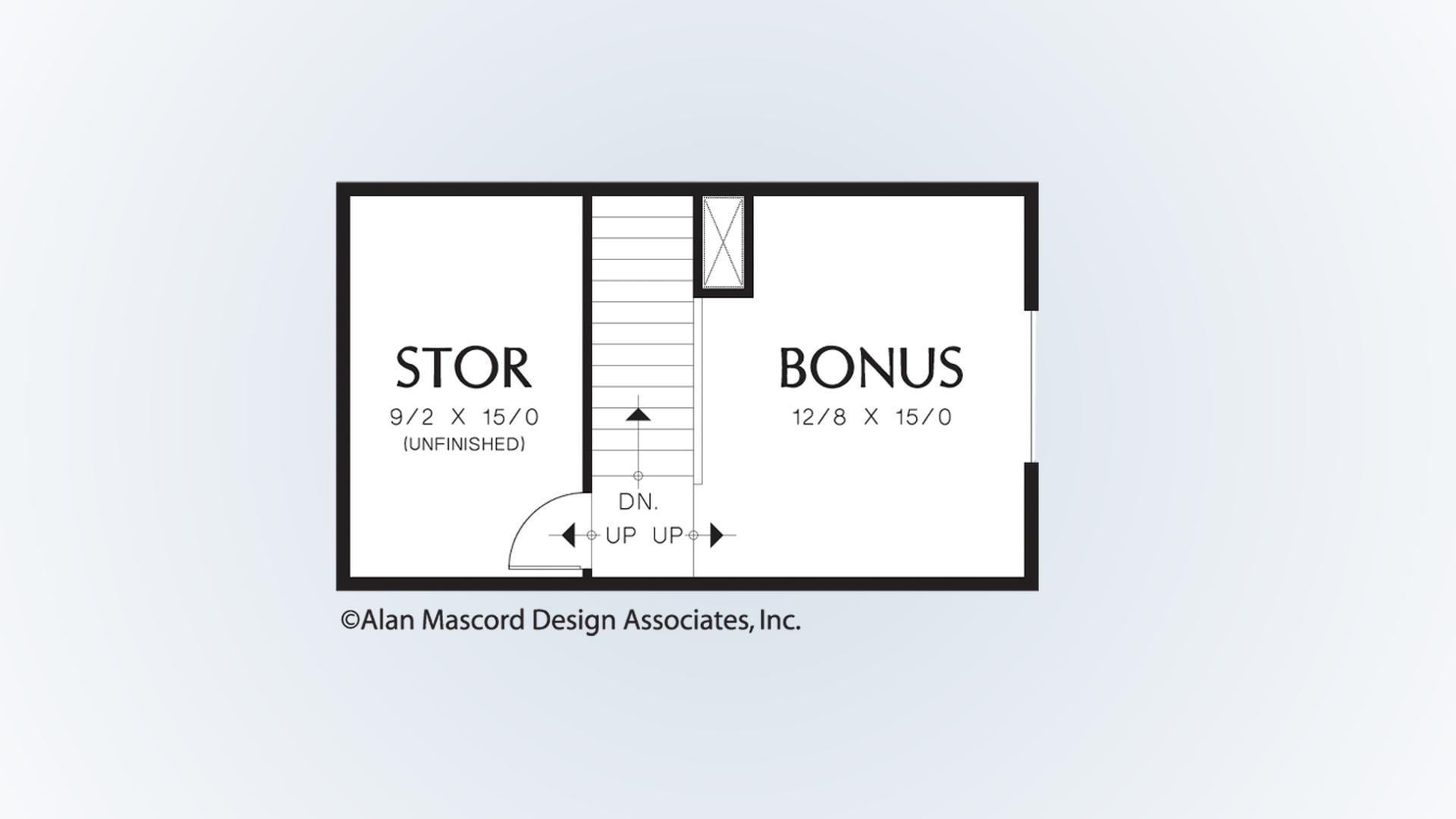 Mascord Floor Plans Part - 46: Upper Floor Plan. Pin Enlarge Flip