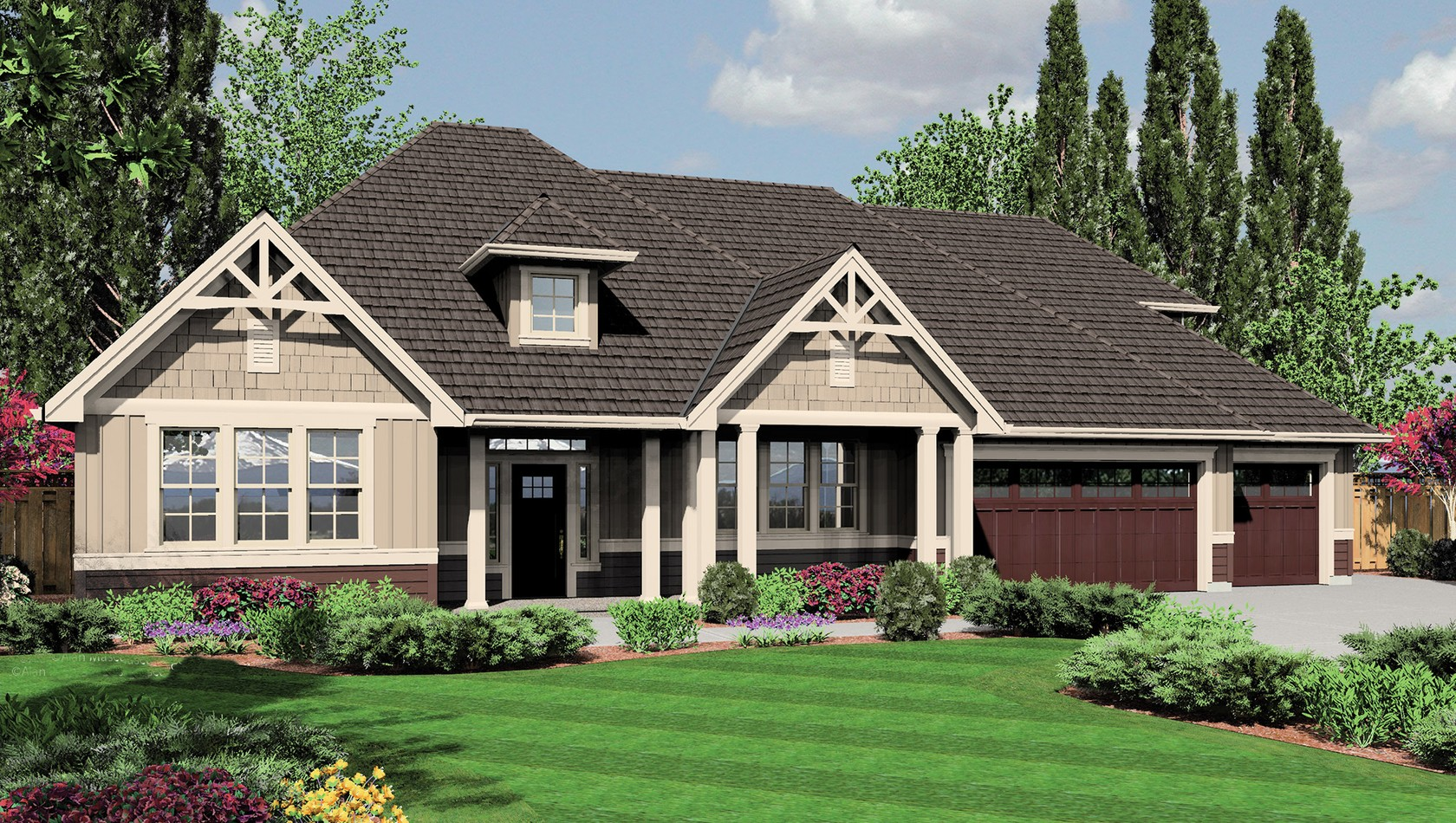 Main image for house plan B22158A: The Jasper