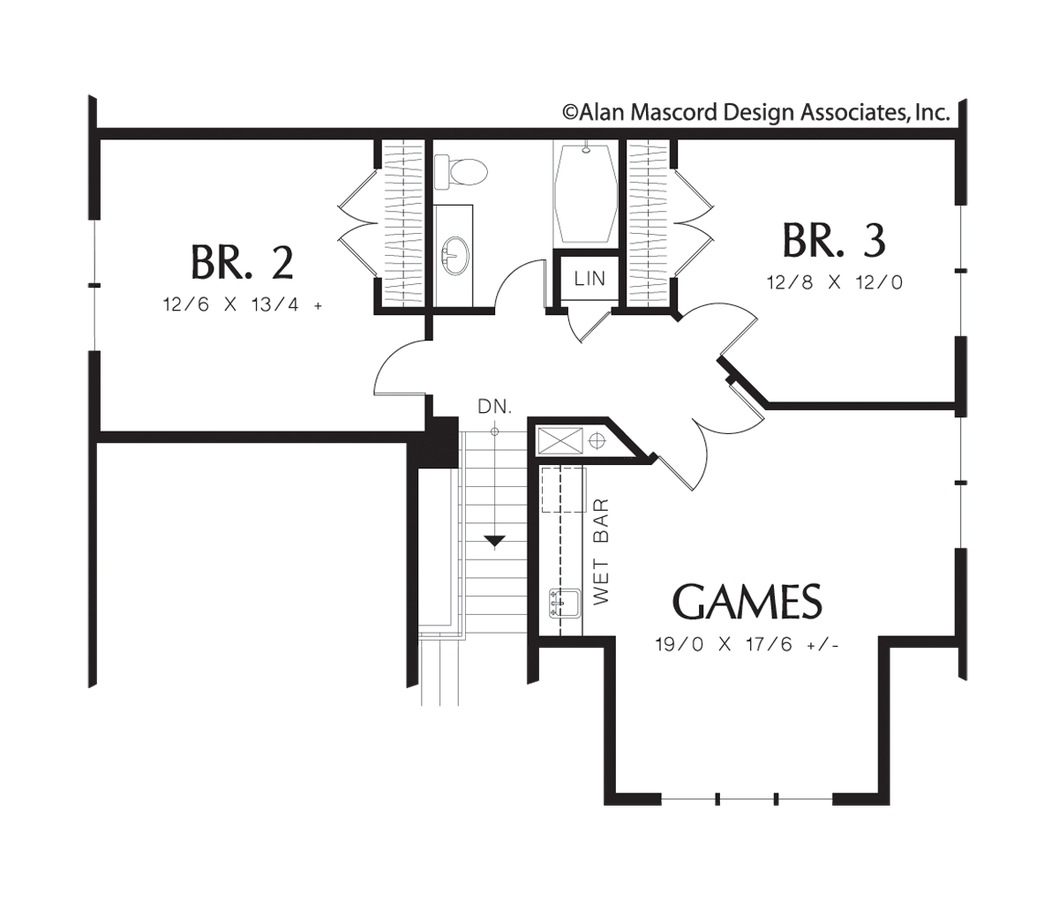 Cottage House Plan 22159a The Caldwell 2213 Sqft 3 Beds 2 1 Baths