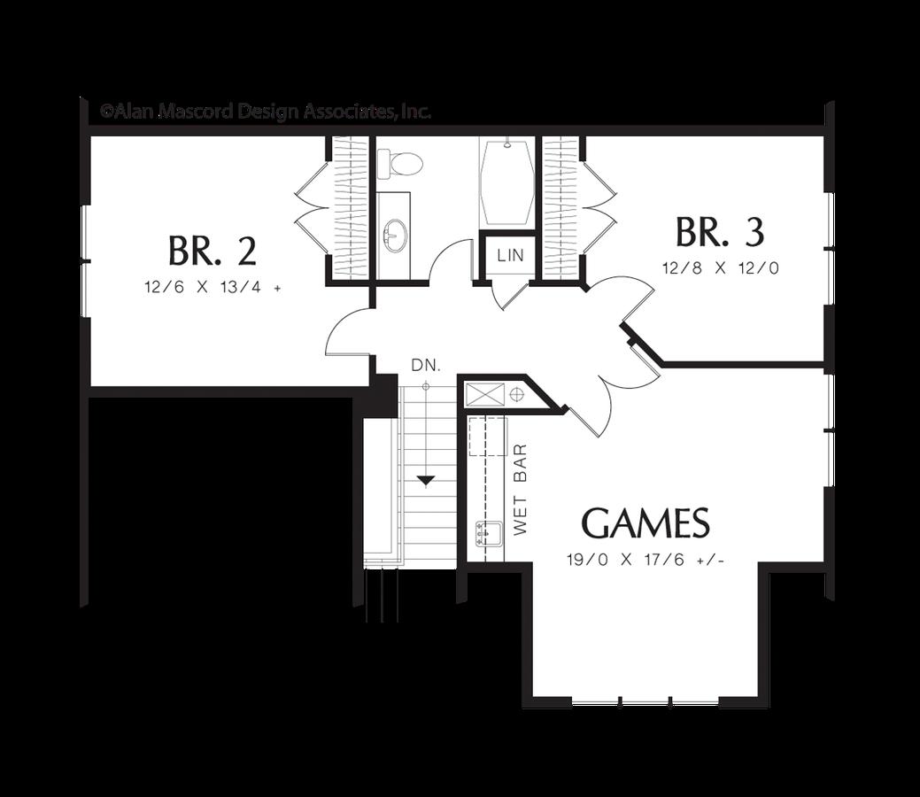 Cottage House Plan 22159 The Fairfield 2230 Sqft 3