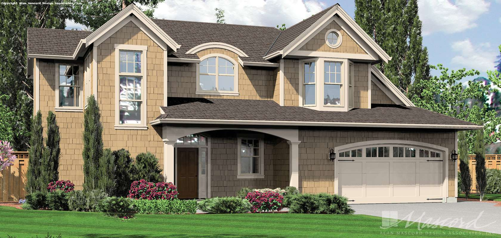 Mascord House Plan 22160: The Pemscott