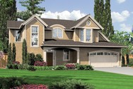Front Rendering of Mascord House Plan 22160 - The Pemscott