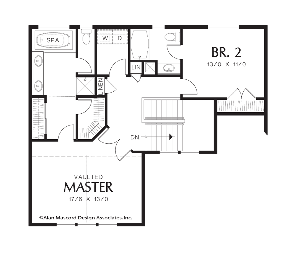 Traditional House Plan 22161 The Butler 2122 Sqft 3