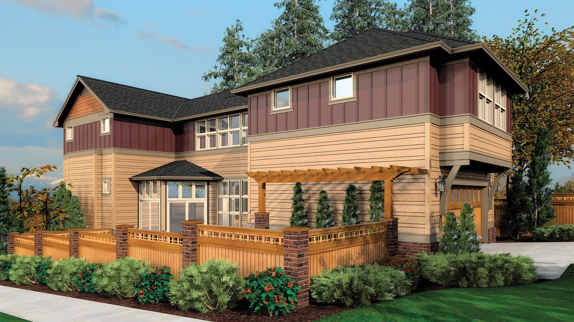 The Nichols Plan 22164 Traditional House Plan