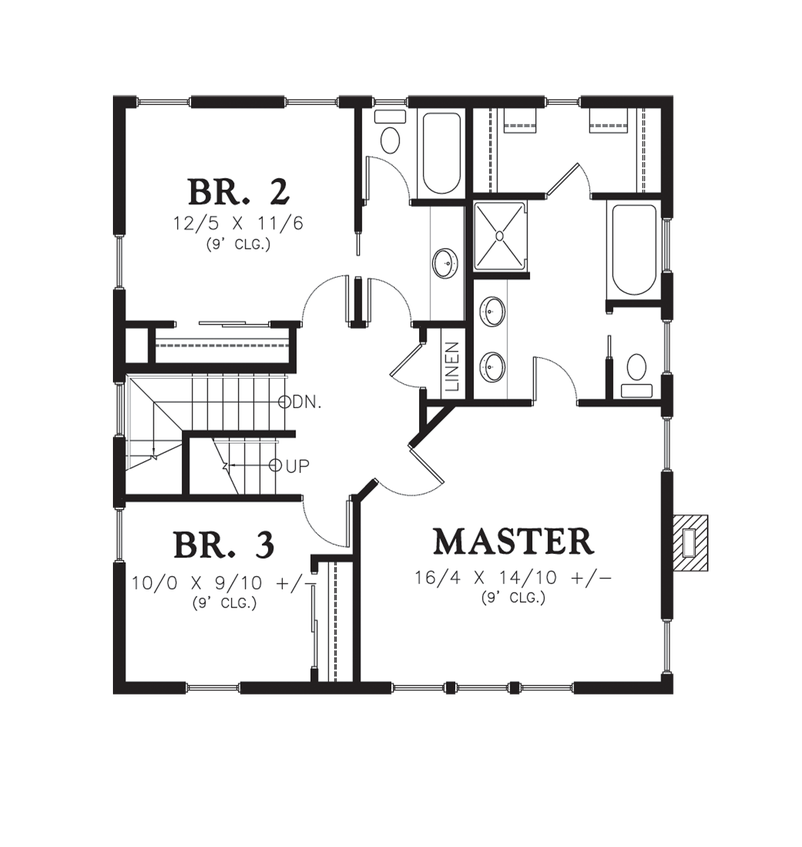 House plan 22172c the carrington for Carrington plan