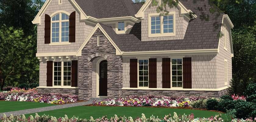 Mascord House Plan 22176A: The Jacksonville
