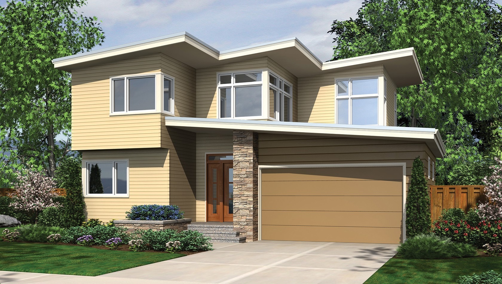 Main image for house plan 22178: The Lorimer
