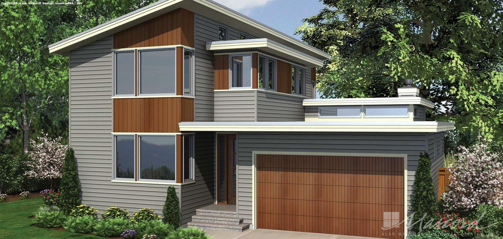 Mascord House Plan 22179: The Dain