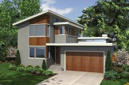 Front Rendering of Mascord House Plan 22179 - The Dain