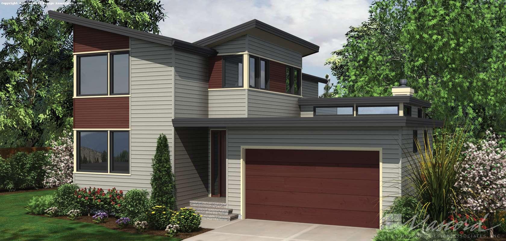 Mascord House Plan 22179A: The Aidenhead