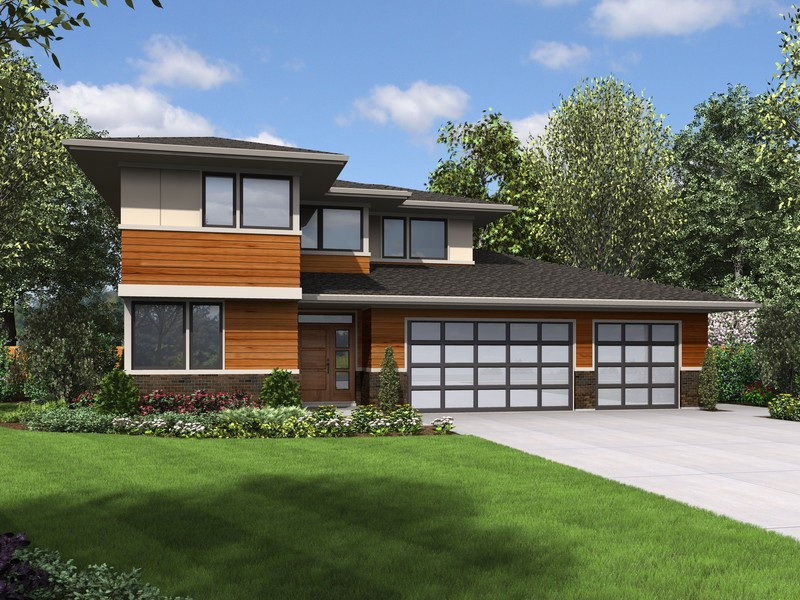Contemporary Craftsman Homes