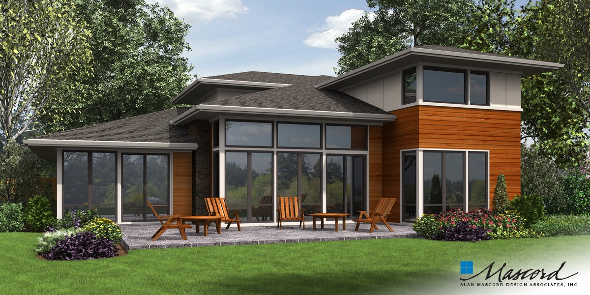 Image for Waterbury-Organic Design with Lots of Light-Rear Rendering