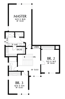 Image for Perry-Fantastic Flex Space behind Great Room Makes This a Home for Life-Upper Floor Plan
