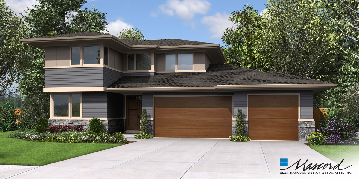 Image for Perry-Fantastic Flex Space behind Great Room Makes This a Home for Life-Front Rendering