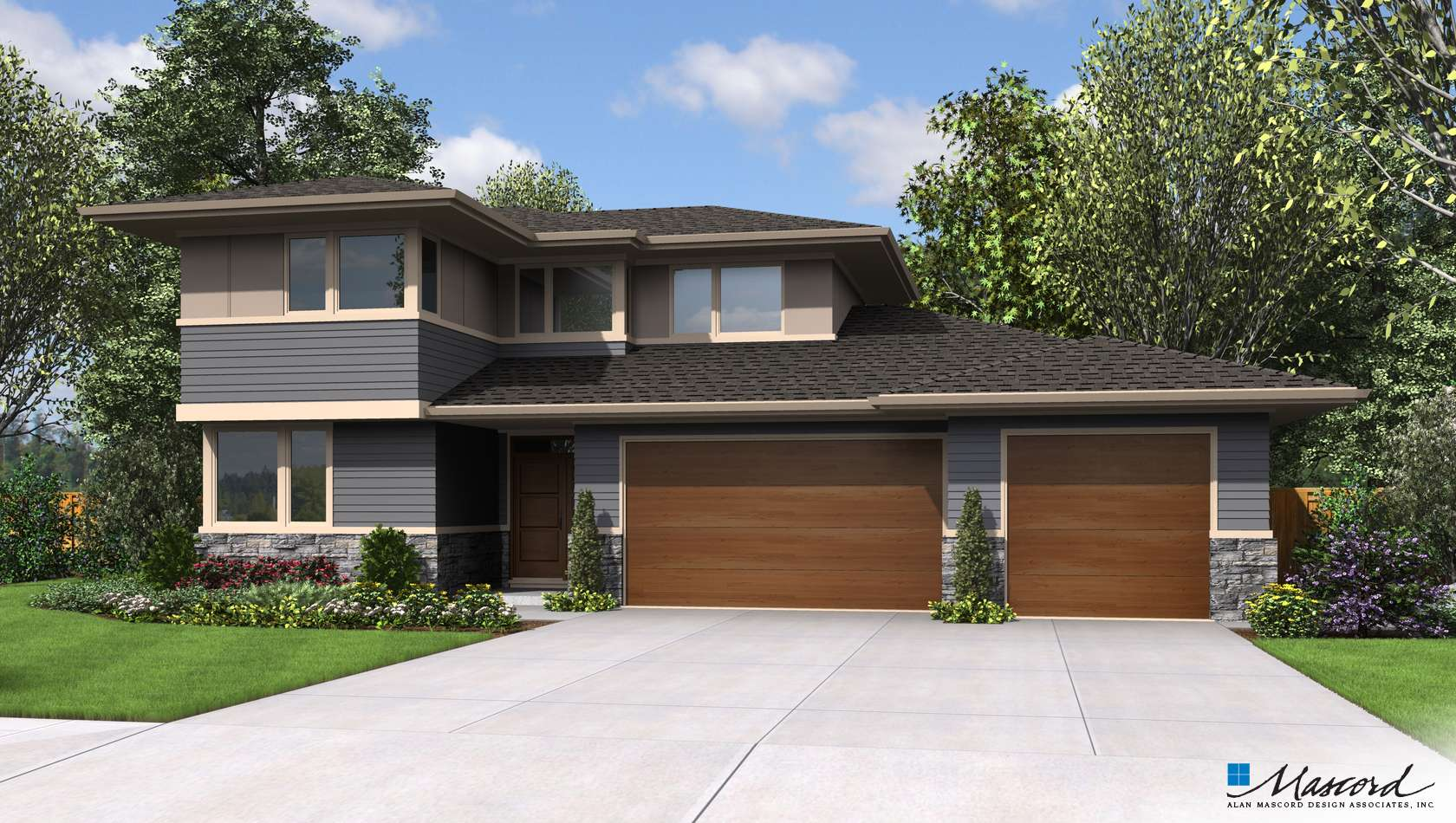 Main image for house plan 22180BA: The Perry