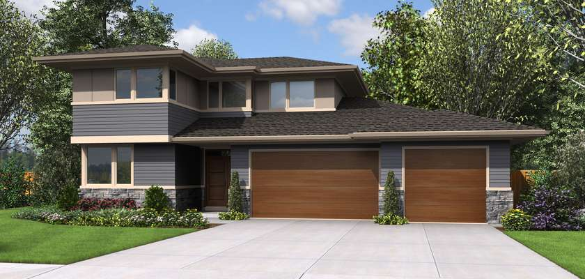 Mascord House Plan 22180BA: The Perry