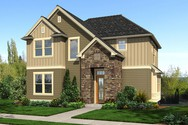 Front Rendering of Mascord House Plan 22188 - The Sunderland