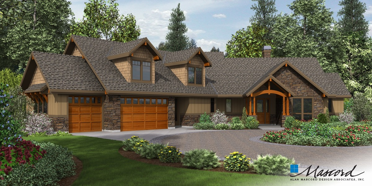 Image for Silverton-Beautiful NW Ranch Style Home-Front Rendering