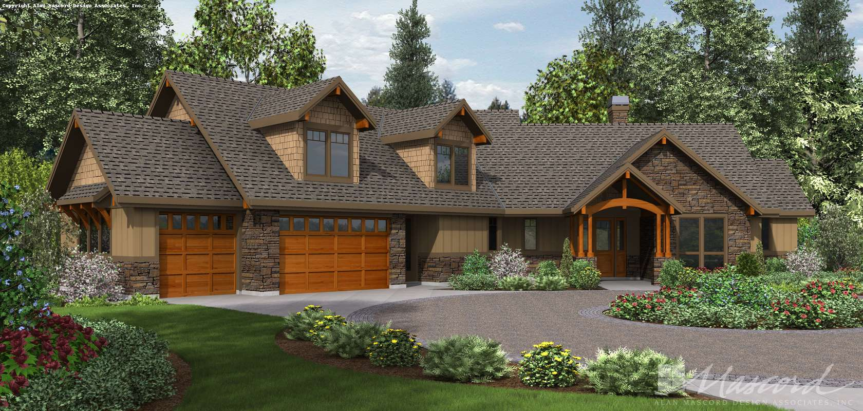 Mascord House Plan 22190: The Silverton