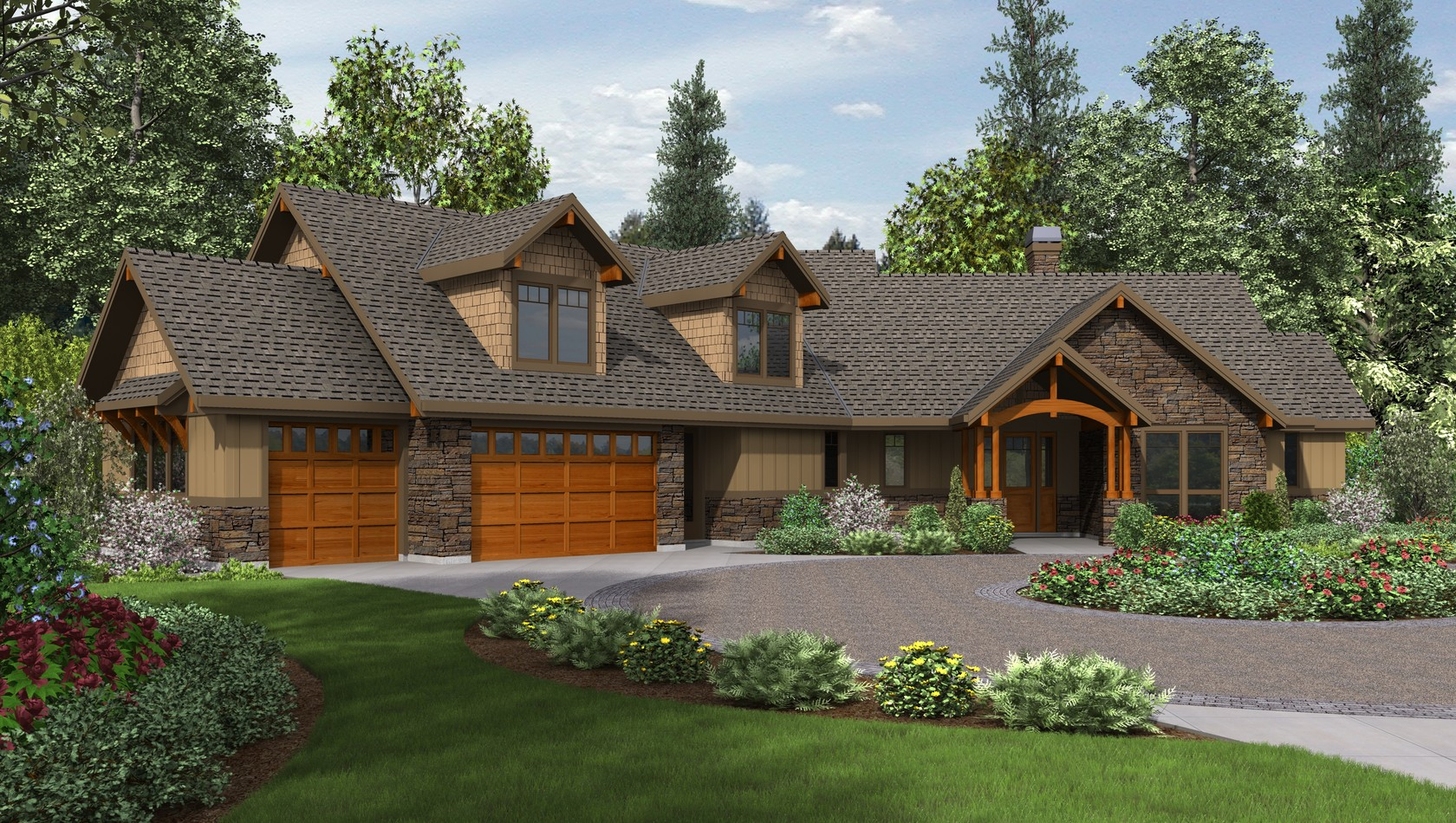 Main image for house plan 22190: The Silverton