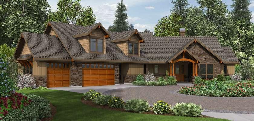Mascord House Plan 22190: The Silverton