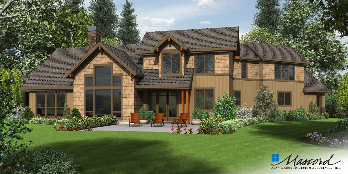 Image for Silverton-Beautiful NW Ranch Style Home-Rear Rendering