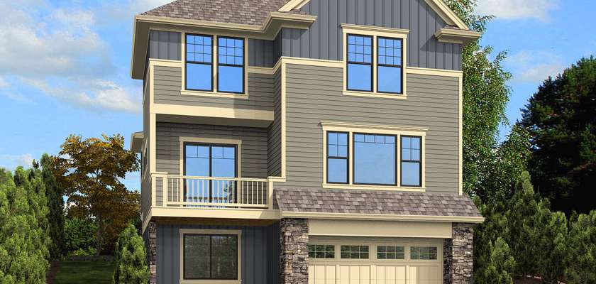 Mascord House Plan 22192: The Roundhay