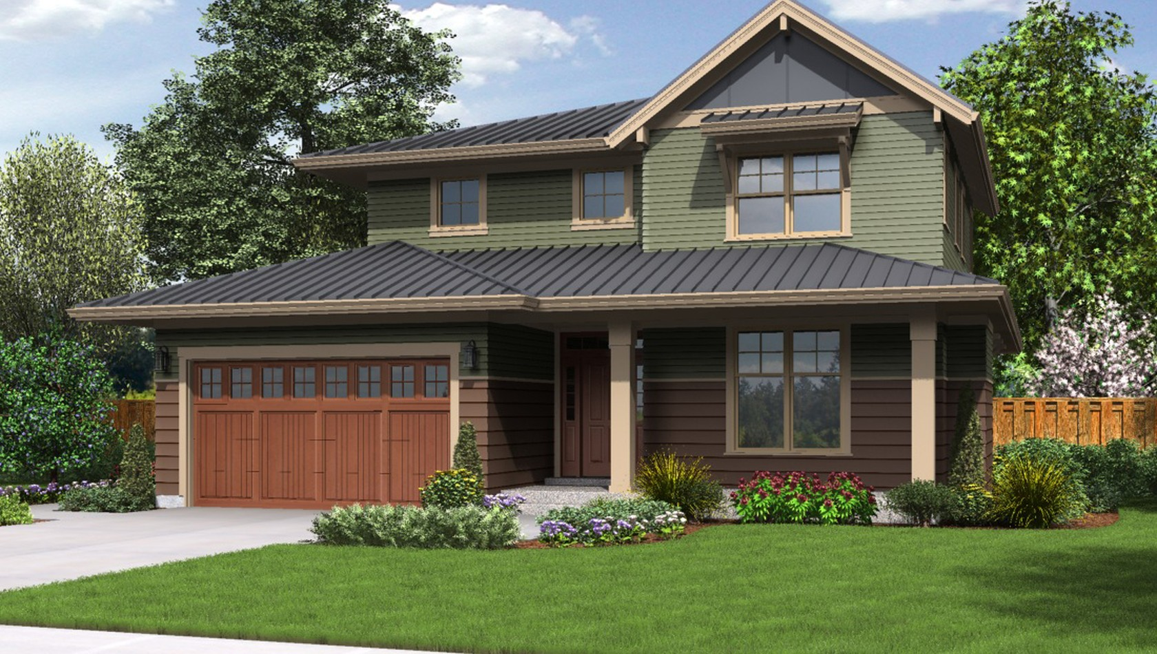 Main image for house plan 22193ES: The Forest Park