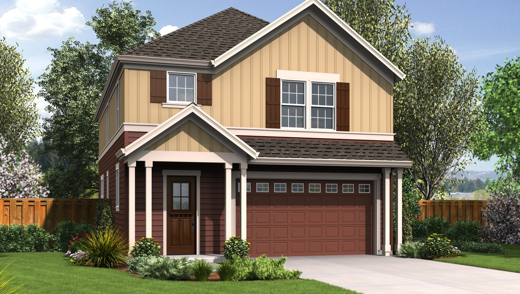 Main image for house plan 22195: The Melville