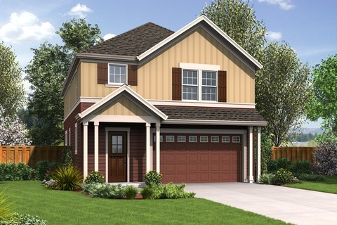 Image for Melville-Small Footprint, Large Spacious Family Plan-4141