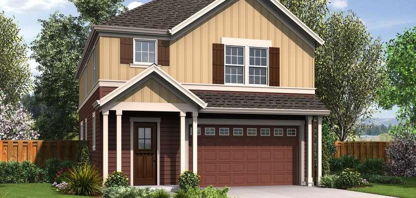 Mascord House Plan 22195: The Melville
