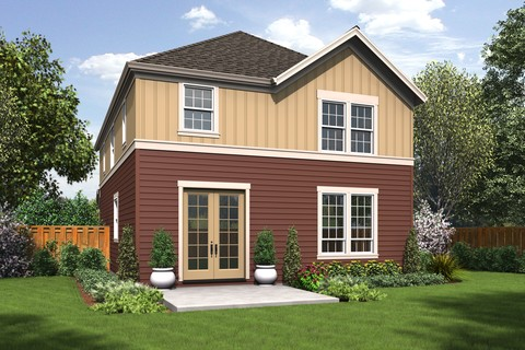Image for Melville-Small Footprint, Large Spacious Family Plan-4142