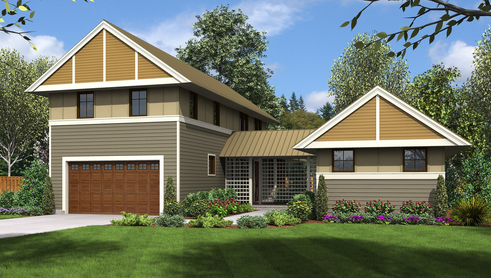 Main image for house plan 22196: The Summerset