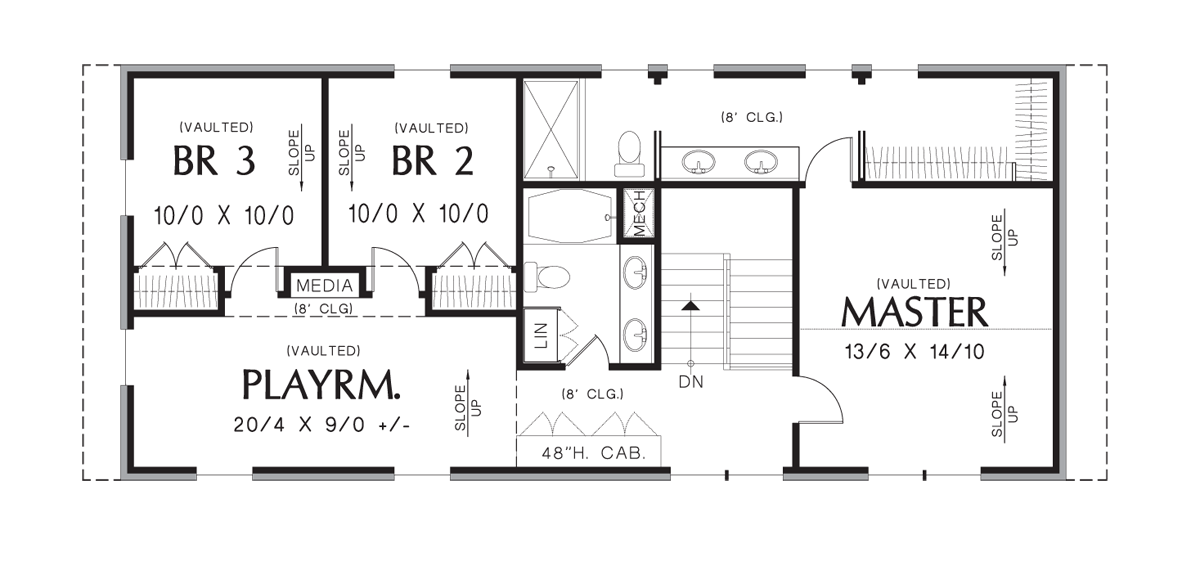 Image for Summerset-A House For All Reasons-Upper Floor Plan