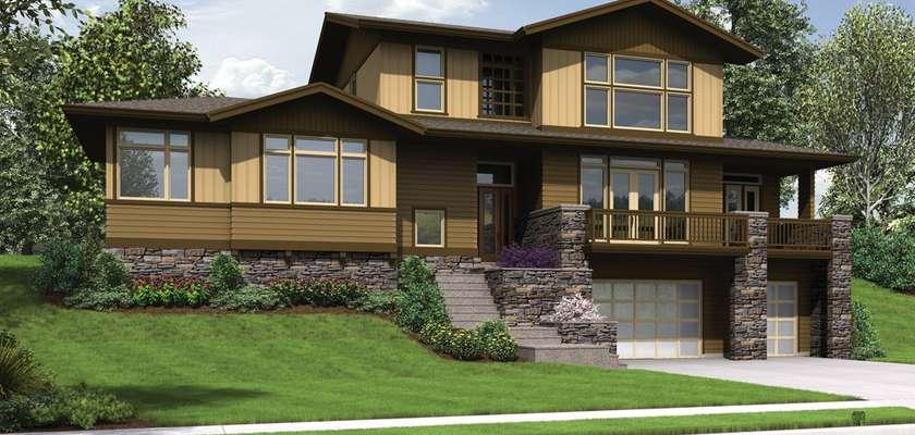 Mascord House Plan 22197: The Renicker
